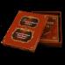 Родословная книг Изысканная с ручной росписью