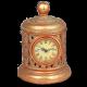 """Сувенирные часы плетение """"Налёт времени"""""""