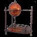 Глобус-бар напольный с двойными полочками