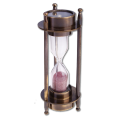 Песочные часы с компасом