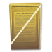 """Книга-сейф """"Золото партий"""""""