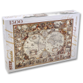 """Пазлы """"Историческая карта мира"""", 1500 элементов"""