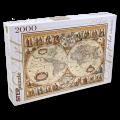 """Пазлы """"Историческая карта мира"""", 2000 элементов"""