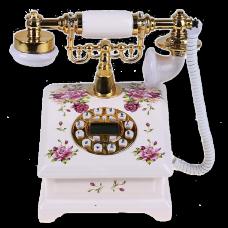 Ретротелефон квадратный